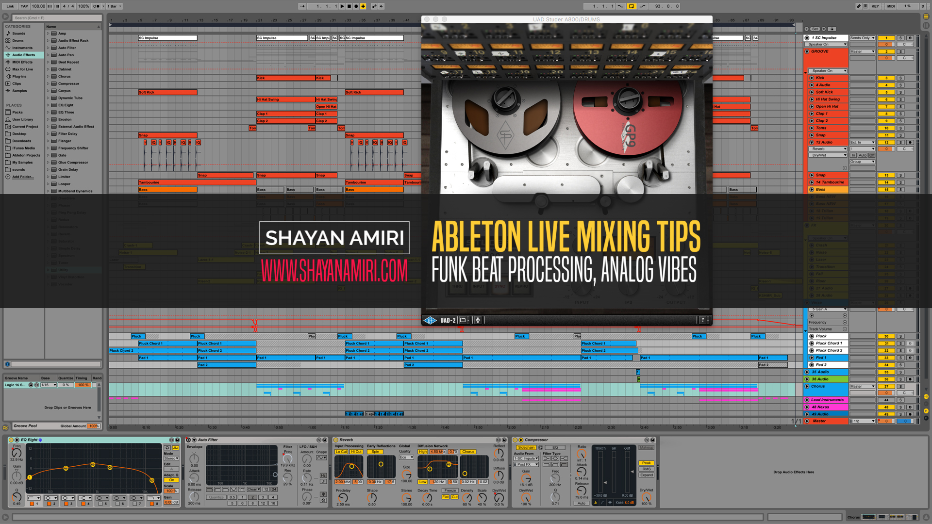 Slate Digital Plugins Archives - Shayan Amiri, Los Angeles Music