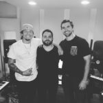 Los Angeles Music Producer Shayan Amiri in the studio with BILL, Big Ass Chest Gang, BAC gang