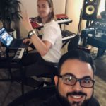 Los Angeles Music Producer Shayan Amiri in The Studio with Axel